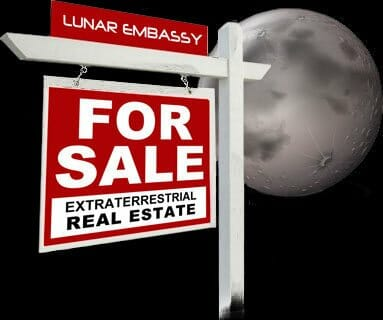 Moon land for sale!