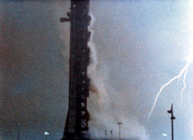 Apollo 12 Struck By Lightening