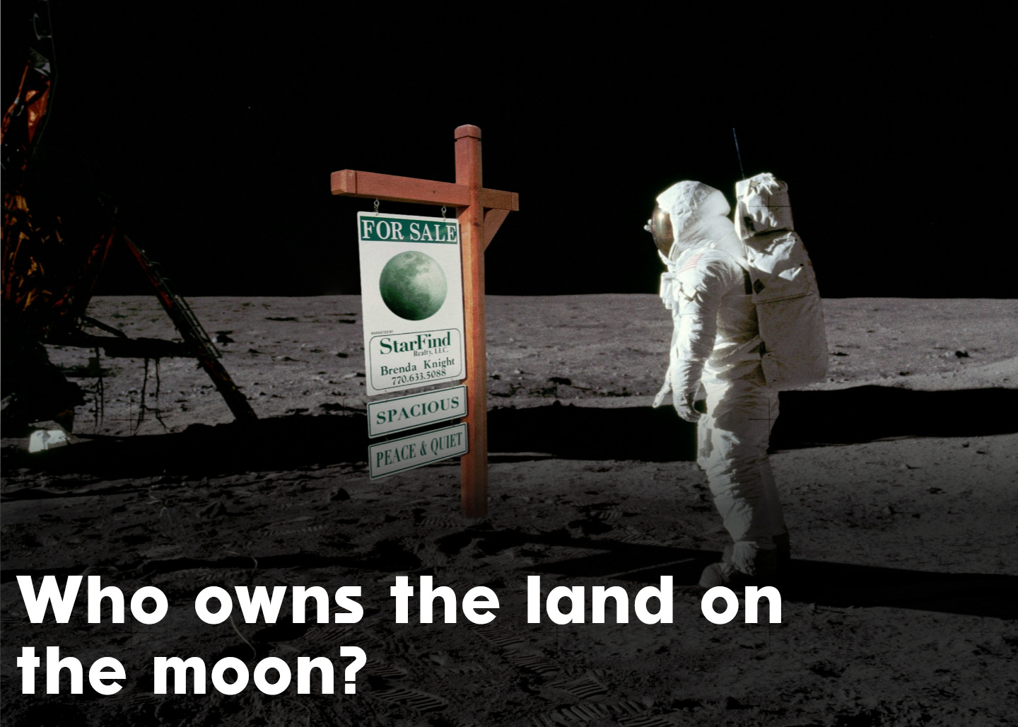 Own Land on The Moon