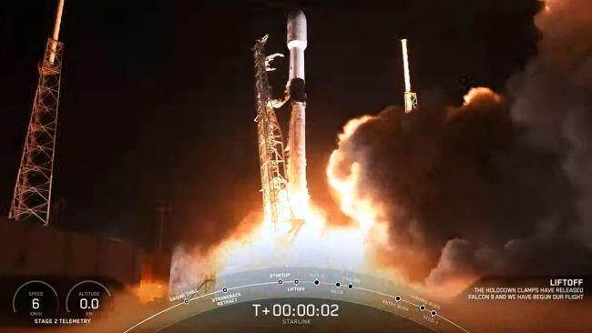 SpaceX Launches 60 Starlink Satellites to Orbit