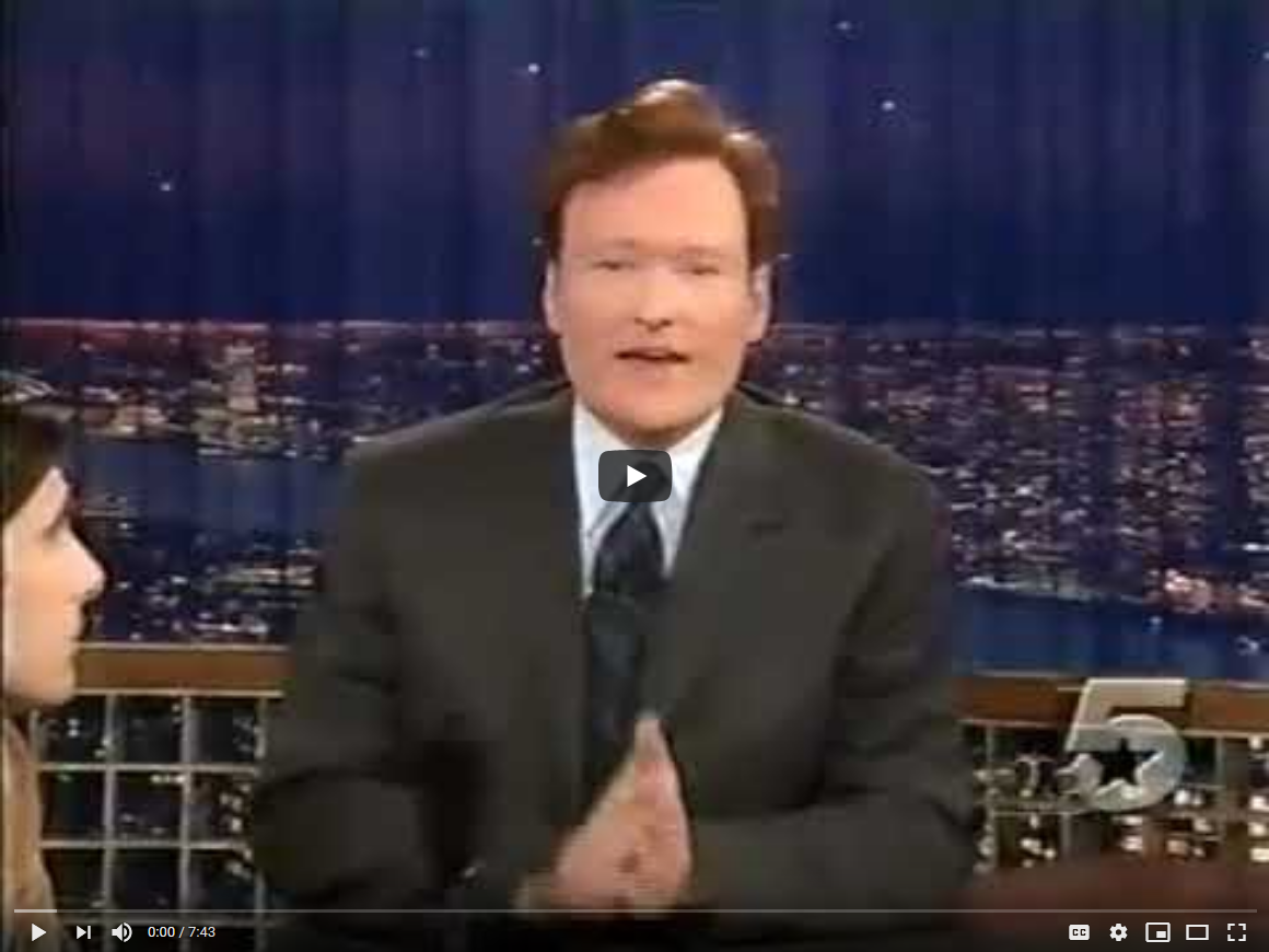 Owning the Moon, Dennis Hope on Conan