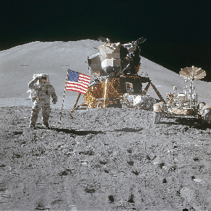 APOLLO 15 Moon Landing Lots