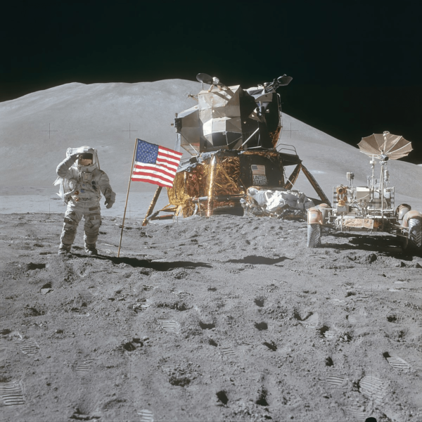 purchase Apollo 15 Landing Site lots on the moon