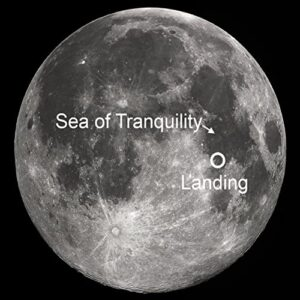 Lunar Embassy acre Sea of Tranquility